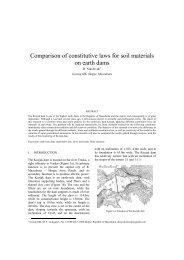 Comparison of constitutive laws for soil materials on earth ... - Kivi Niria