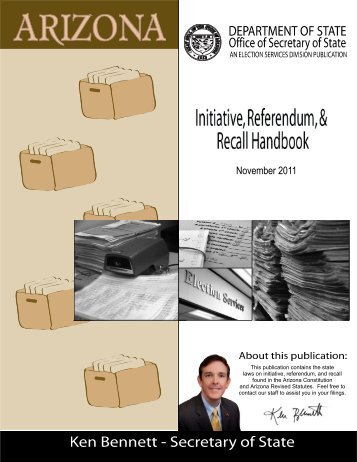 Secretary of State Initiative, Referendum and Recall ... - Gila County