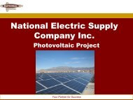 National Electric Supply Company Inc.