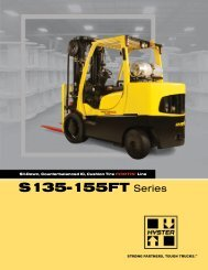 S135-155FT Series - Hyster Company