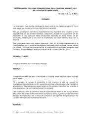 DETERMINACIÒN DEL CLIMA ORGANIZACIONAL EN LA ...