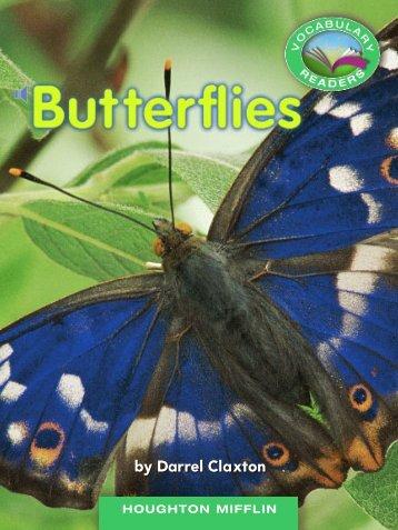Lesson 24:Butterflies