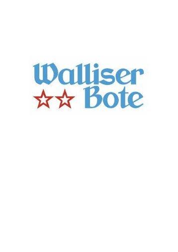 Walliser Bote 24.12.13
