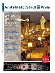 Amtsblatt der Stadt Wels November 2011