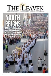 More than 21,000 youth took over downtown Kansas ... - The Leaven