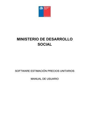 Anexo B Bases Técnicas - Sistema Nacional de Inversiones