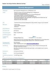 Diversity Management - Klinikum München-Ost