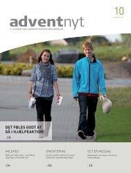 Adventnyt 2011-10.indd - Syvende Dags Adventistkirken