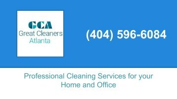 Great Cleaners Atlanta