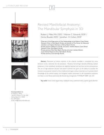 Ct maxillofacial anatomy