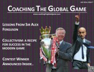 Issue 7 - Coaching the Global Game - July 2014