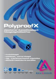 PolyproofX duzzadószalagok (pdf - 2,7 MB) language - Bau-Haus Kft.