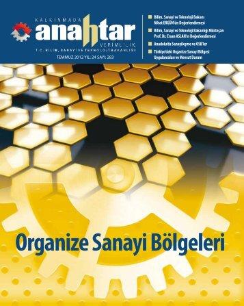Temmuz 2012 Sayı:283 - Verimlilik Genel Müdürlüğü - Bilim, Sanayi ...