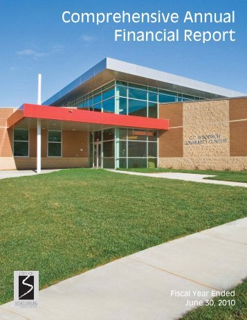 Comprehensive Annual Financial Report - City of Spartanburg
