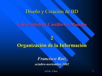 mecanismos de abstracción - Universidad de Castilla-La Mancha