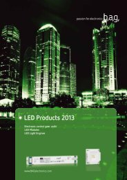 LED Modules - BAG electronics