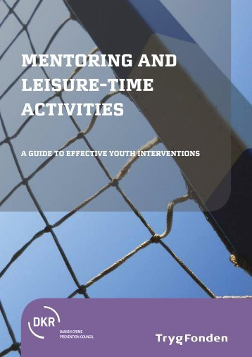Mentoring and leisure-time activities