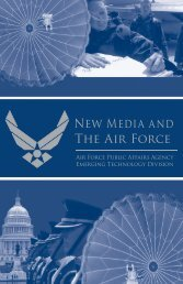 New Media and The Air Force - ConnectedCOPS