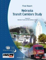 NTRAC Final Study - Nebraska Department of Roads - State of ...