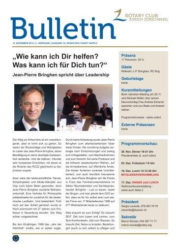 Bulletin 9.11.12