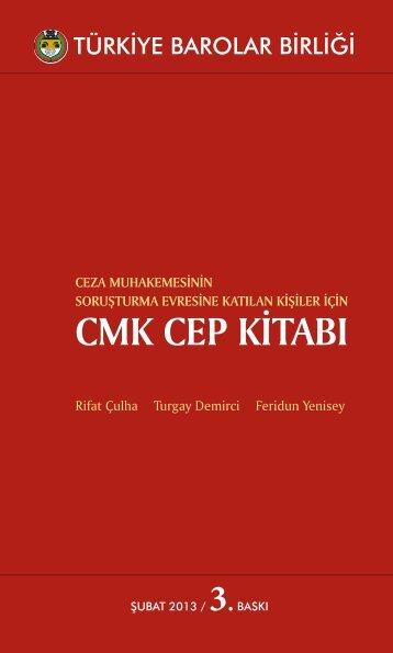 cmk cep kitabı - Türkiye Barolar Birliği Yayınları