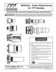 MANUAL: Foam Attachments for TFT Nozzles - Task Force Tips