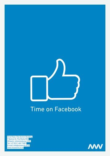 Why it is worth your while to spend time on Facebook - Nicework