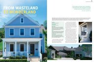 FROM WASTELAND TO WONDERLAND - James Hardie