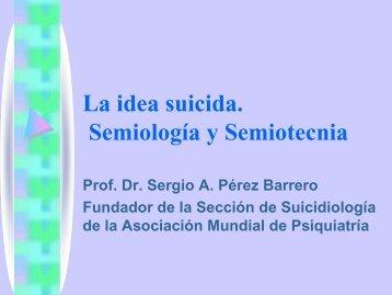 La idea suicida. Concepto y formas clínicas