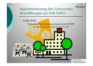 U Kleb - Netzwerk Wundtherapie