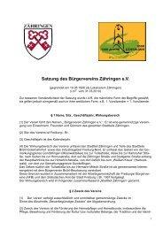 als PDF - Bürgerverein Zähringen