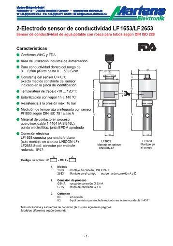 LFX653-00- Prospekt - Martens Elektronik GmbH