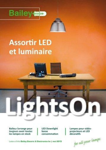 Assortir LED et luminaire - Bailey