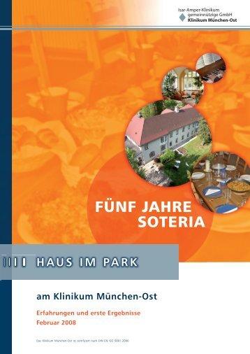 FÜNF JAHRE SOTERIA - Klinikum München-Ost