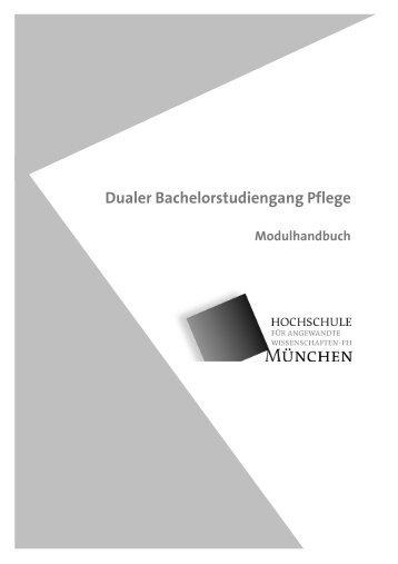 Dualer Bachelorstudiengang Pflege - Hochschule München