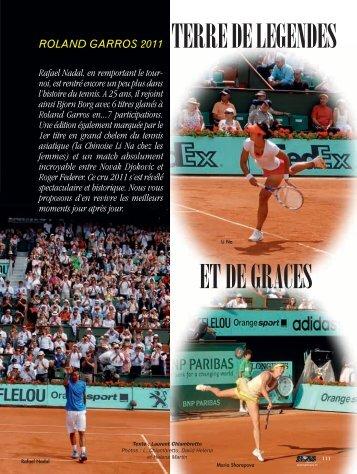 Roland Garros - Magazine Sports et Loisirs