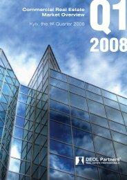 Ukraine, Q1 2008 - DEOL Partners