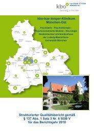 kbo-Isar-Amper-Klinikum München-Ost Strukturierter ...