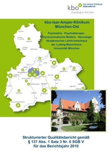Atriumhaus München allgemeinpsychiatrie am kbo isar amper klinikum münchen ost