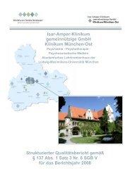 Isar-Amper-Klinikum gemeinnützige GmbH Klinikum München-Ost ...