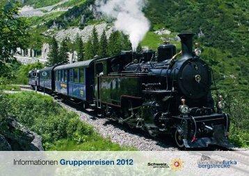 Informationen Gruppenreisen 2012 - dfb