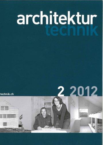 architektur technik 2/12