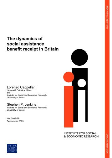 The dynamics of social assistance benefit receipt in Britain