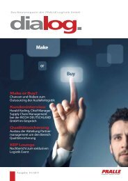 Ausgabe 01/2011 - PRALLE LOGISTIK GmbH