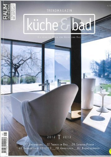 Trendmagazin Küche & Bad 2012/2013