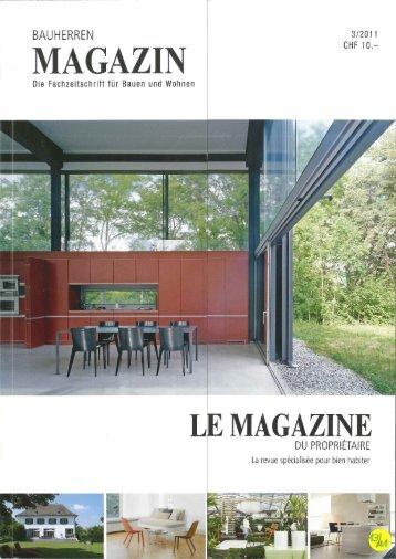 Bauherren Magazin 3/11