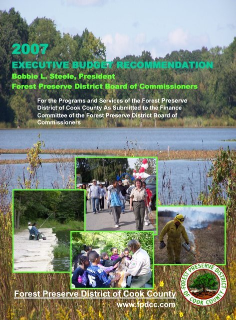 FY 2007 Budget - Forest Preserve District of Cook County