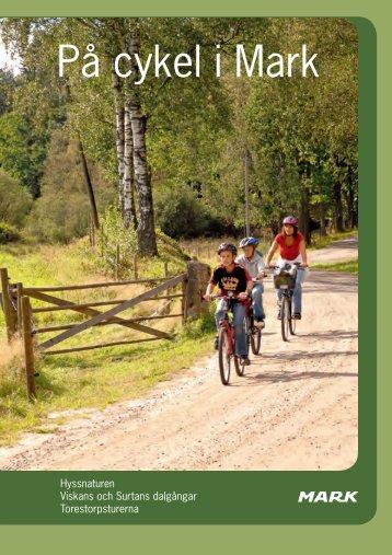 På cykel i Mark - Västsverige