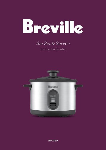 the Set & Serve™ - Breville
