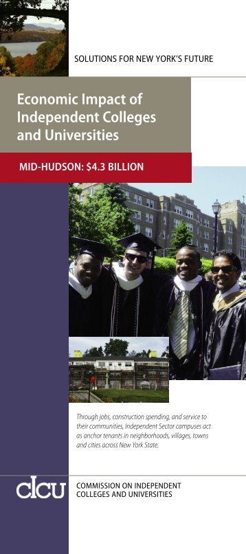 Economic Impact of Independent Colleges and Universities ... - cIcu